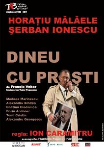"""Piesa de teatru """"Dineu cu proşti"""" – Cluj – Napoca"""