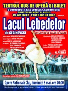 """Spectacol de balet """"Lacul Lebedelor"""" – 8 mai – Cluj – Napoca"""
