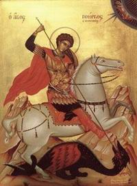 23 aprilie - Sfântul Mucenic Gheorghe