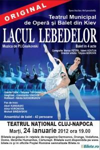 "Spectacol de balet ""Lacul lebedelor"" – 24 ianuarie – Cluj-Napoca"