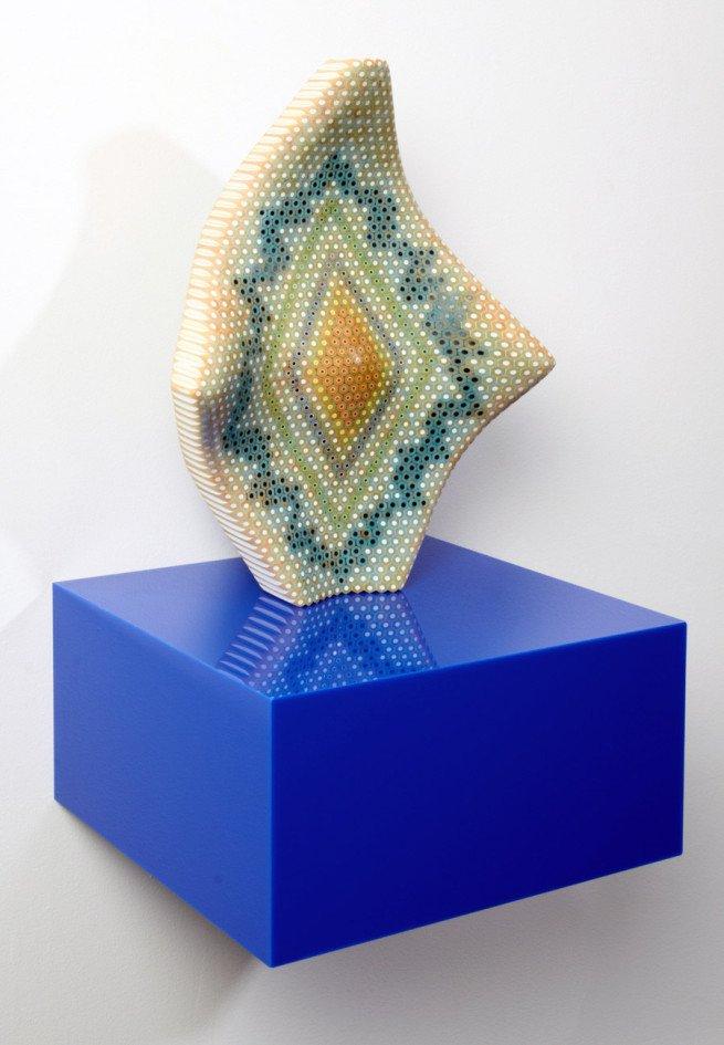 Sculputra din creioane  Lionel Bawden