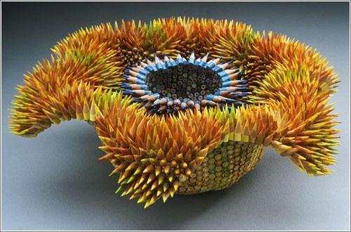creioane in forma de floare