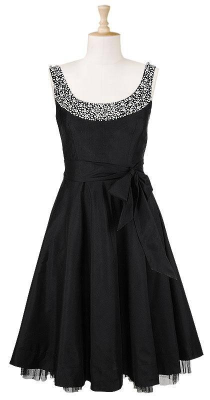 Little black dress - must have!