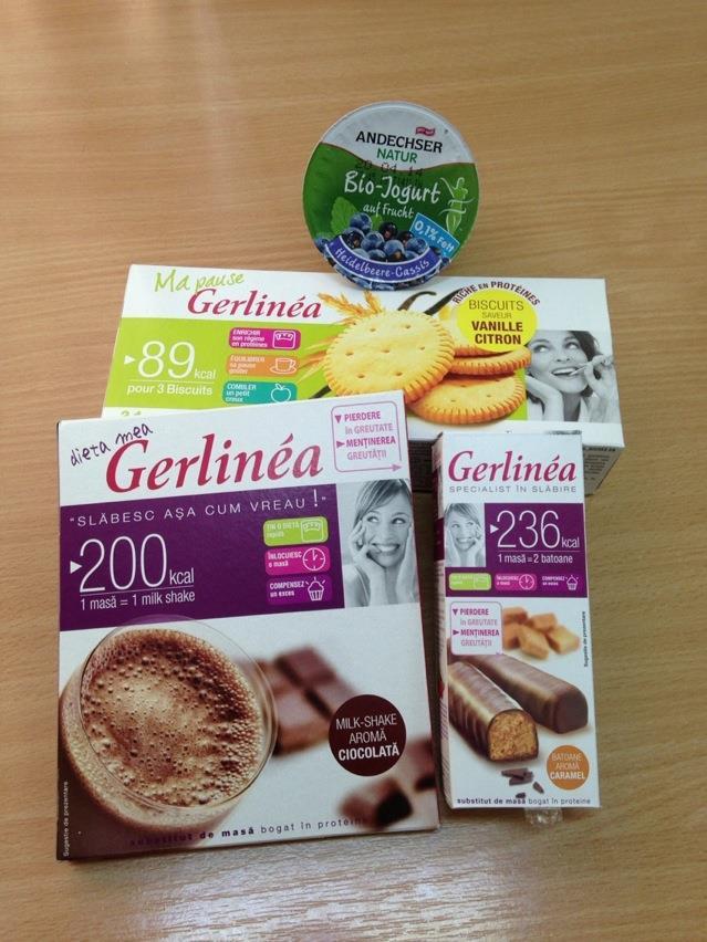 Provocarea Gerlinea - jurnal de dietă și rezultate și Concurs!