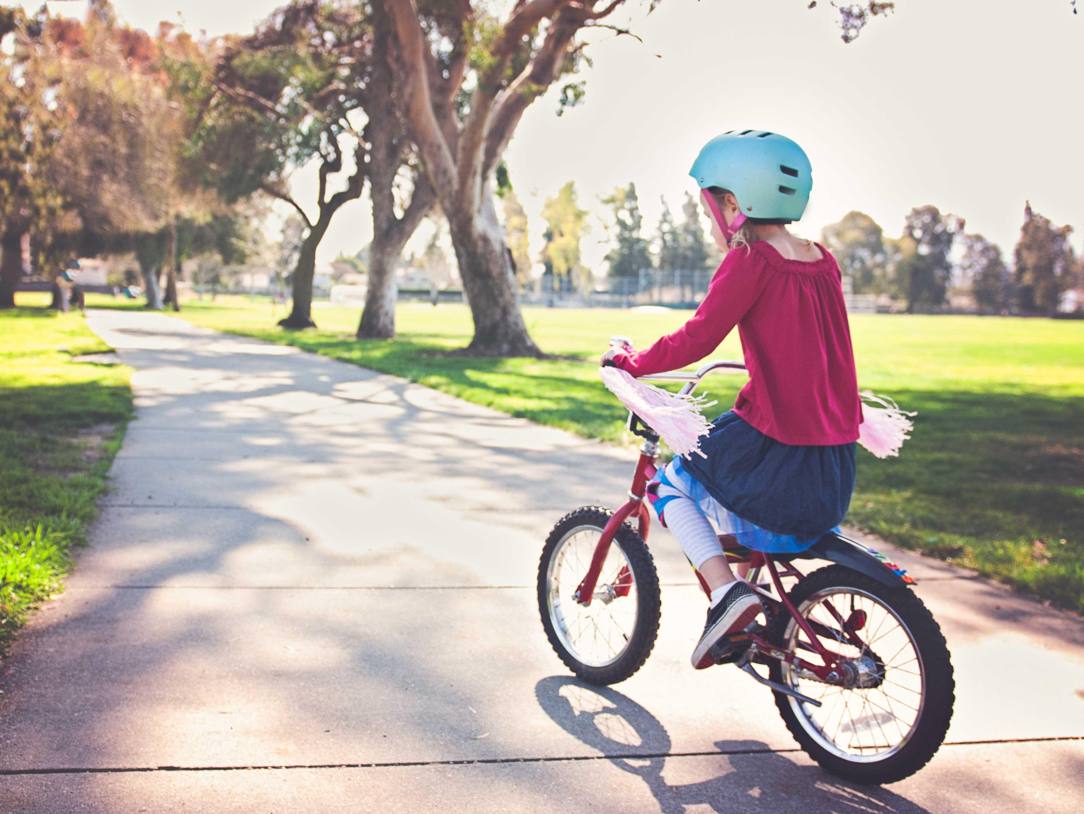 Bicicleta - cadoul mult așteptat!