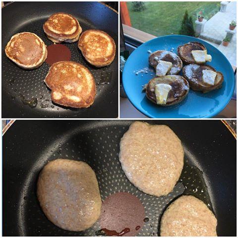 rețete rapide colaj pancakes montignac deweekend.ro
