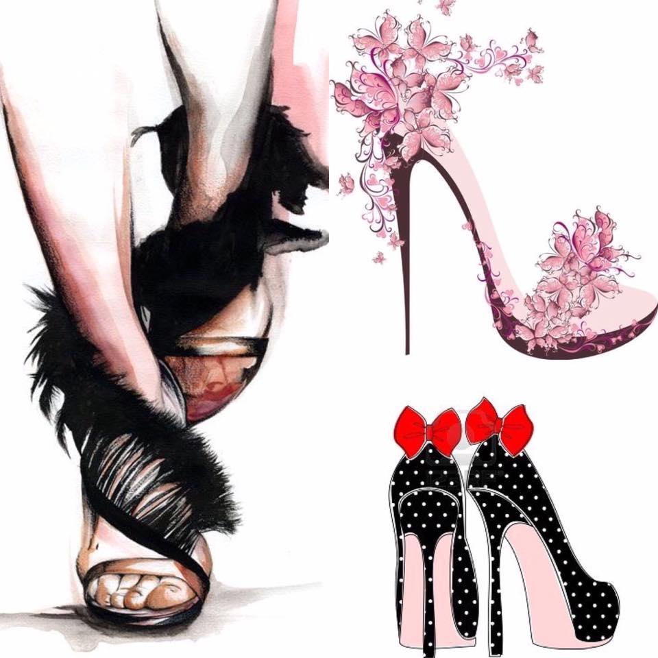 pantofi frumoși