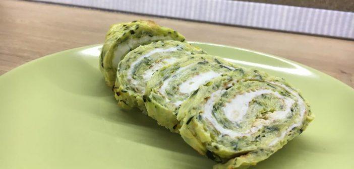 Ruladă de zucchini – rețetă dieta Montignac