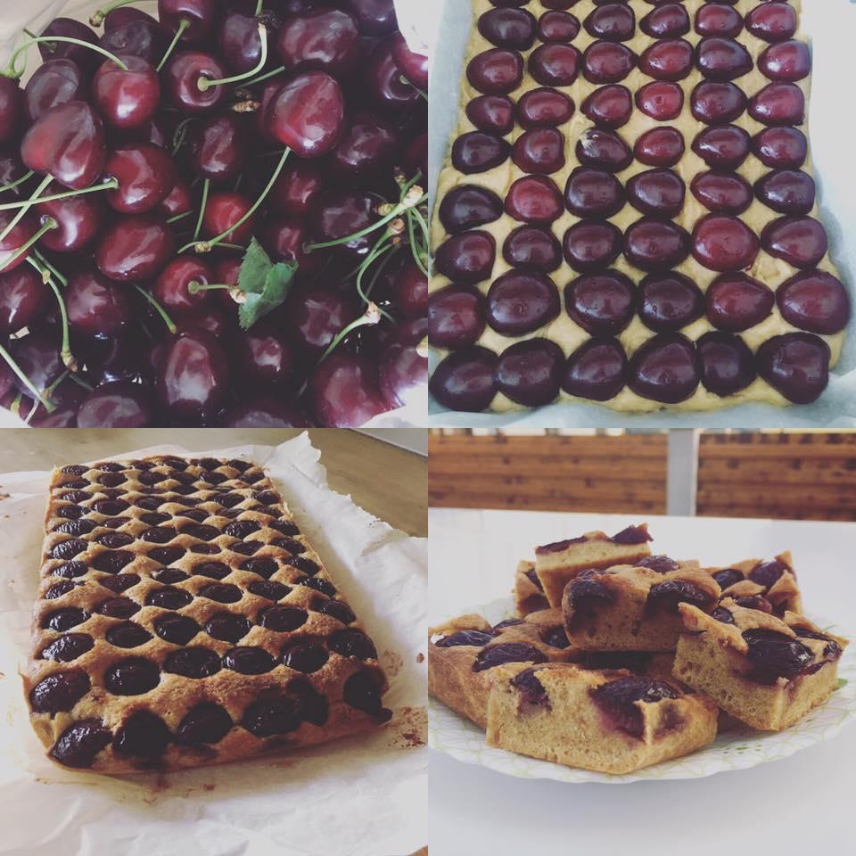 prăjitură cu cireșe