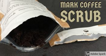 MARK coffee scrub