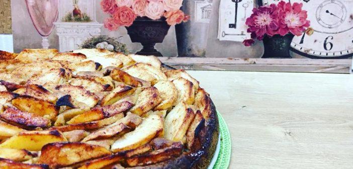 prăjitură cu mere fără zahăr