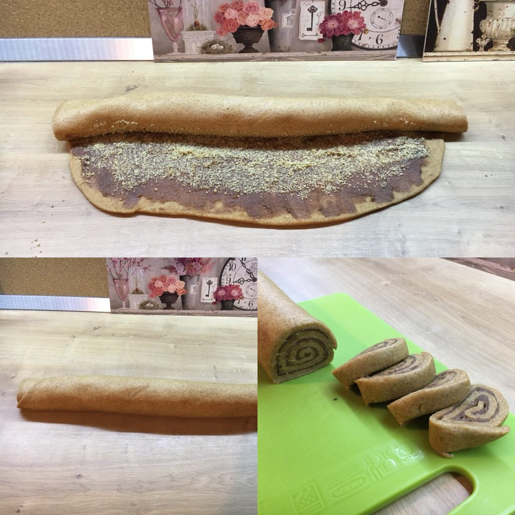cinnamon rolls fără zahăr