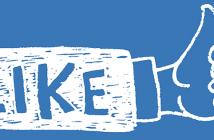 Like pe Facebook
