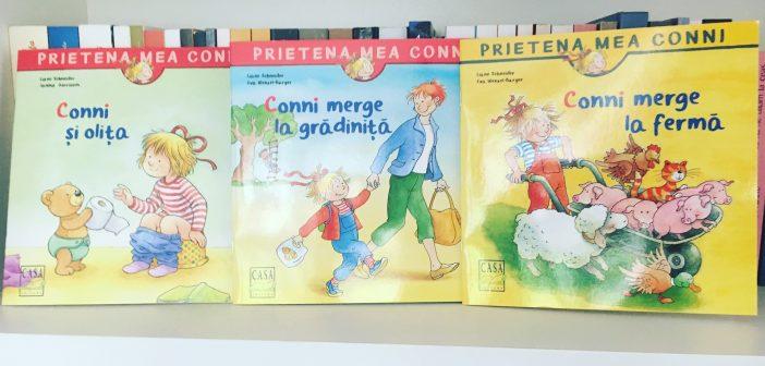 Cărți pentru copii – Prietena mea Conni de Liane Schneider și Eva Wenzel-Burger