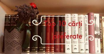 top 10 cărți preferate