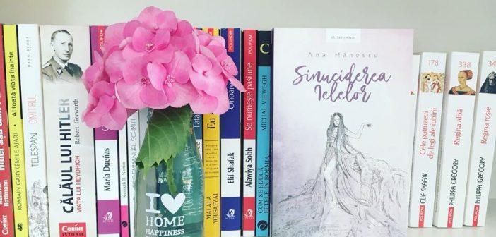 Sinuciderea Ielelor de Ana Mănescu recomandare lectură
