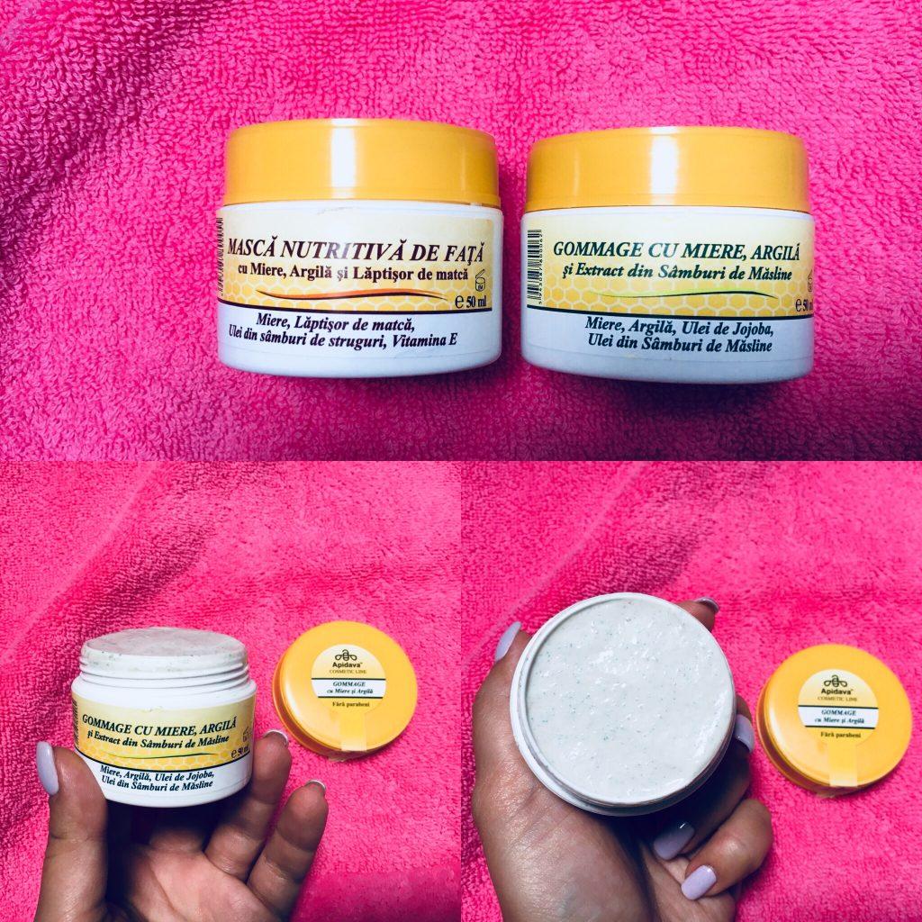 produse cosmetice Apidava