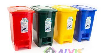 coșurile de gunoi Hobby Slim Eco