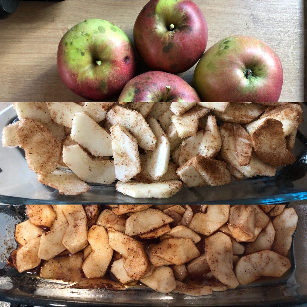 Tort cu mere și budincă