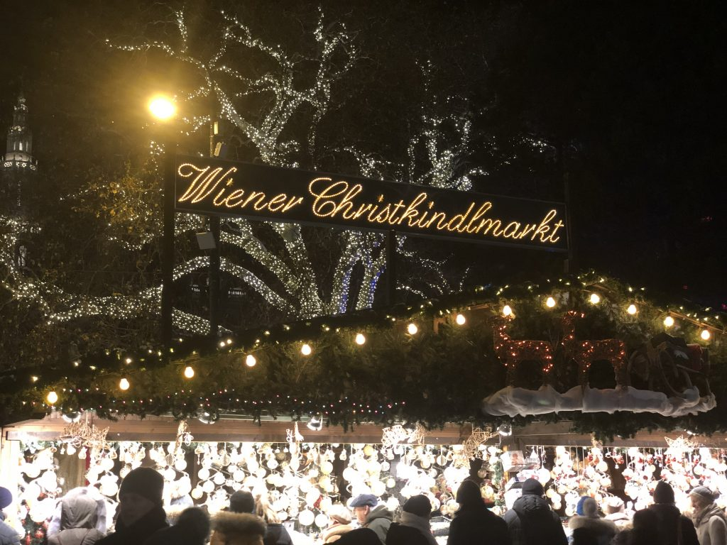 Târgul de Crăciun din Viena