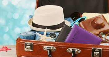 bagajul pentru concediu