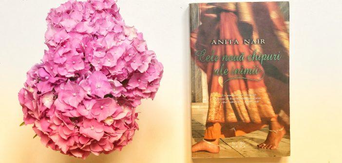 Cele nouă chipuri ale inimii de Anita Nair