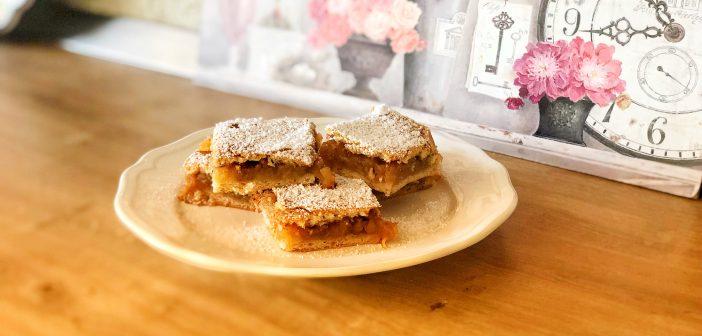 prăjitură cu mere de post