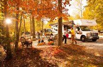 locuri de camping