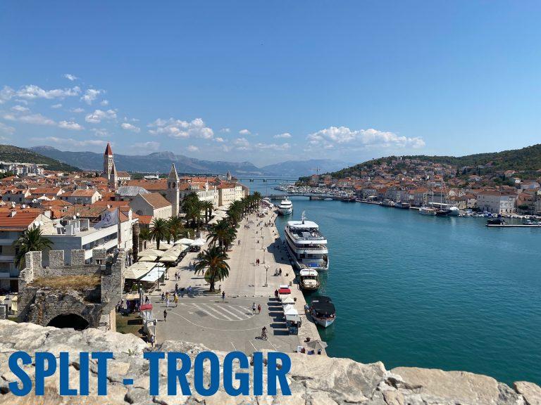 Split și Trogir