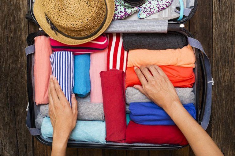 organizarea bagajului perfect